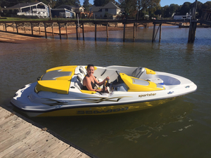 Used Bombardier Sea DOO Sportster Jet Boat For Sale