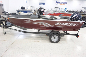 Used Alumacraft Classic 165 CS Freshwater Fishing Boat For Sale