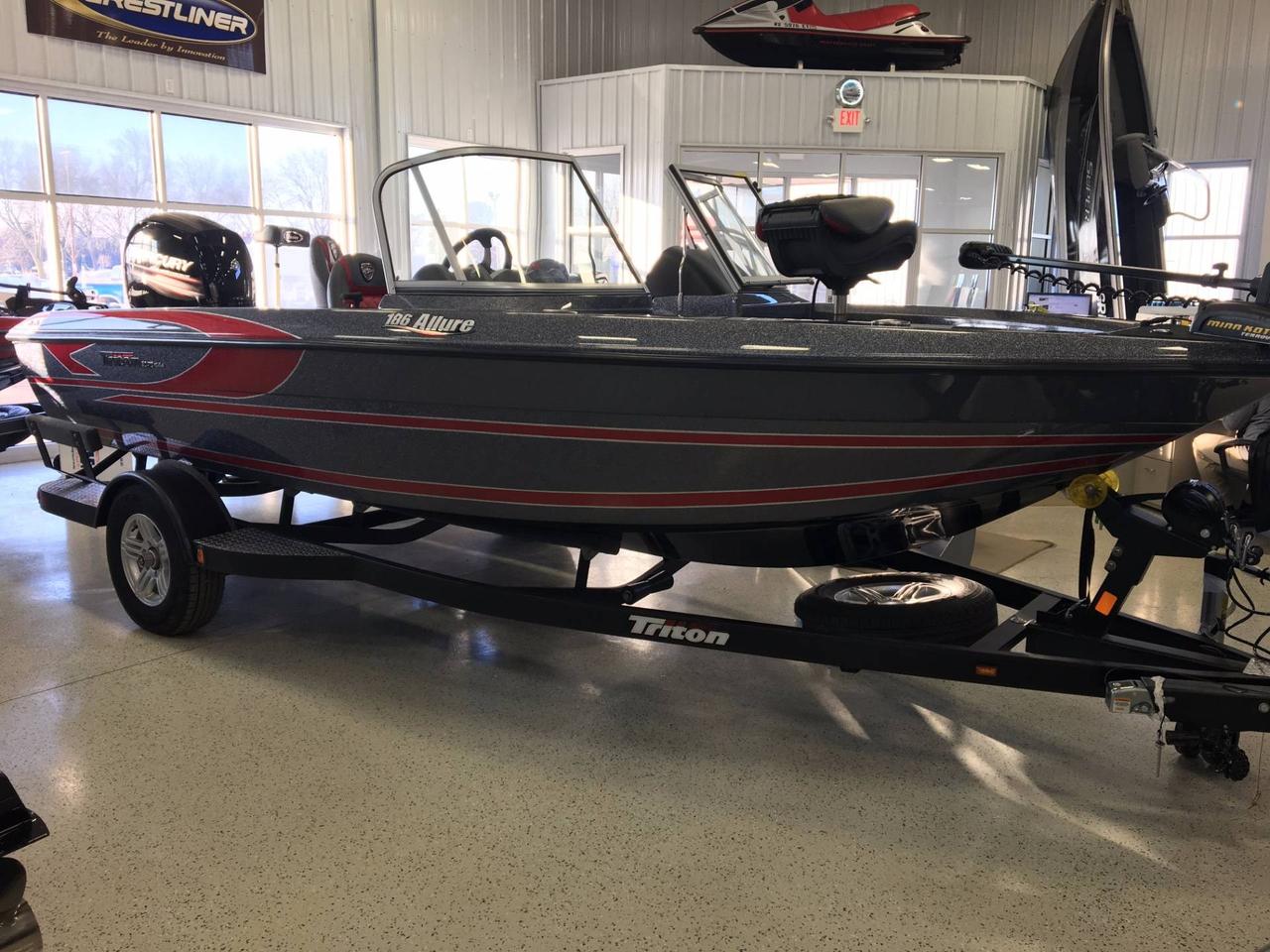 2017 new triton 186 allure ski and fish boat for sale for Fish and ski boats for sale