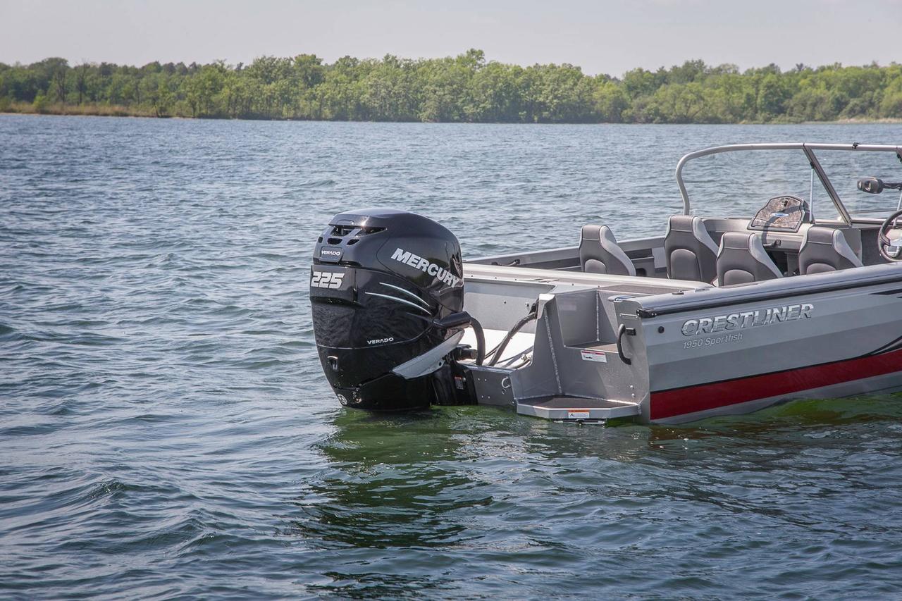 2017 new crestliner 1850 sportfish sst aluminum fishing for New fishing boats