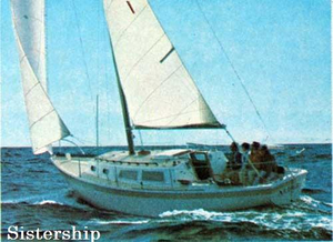 Used Cal 34 Racer and Cruiser Sailboat For Sale
