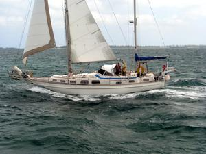 Used Hallberg-Rassy 41 Ketch Center Cockpit Sailboat For Sale