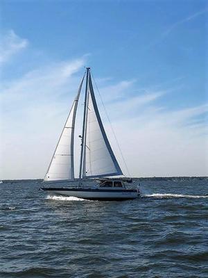 Used Lancer 45 Motorsailer Sailboat For Sale