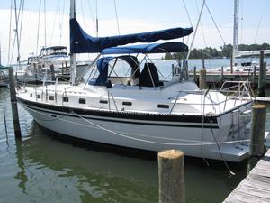 Used Lancer Yachts 40 Motorsailer Sailboat For Sale