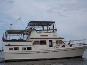 Used Marine Trader 40 Sundeck Aft Cabin Boat For Sale