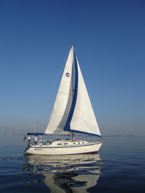 Used O'day 35 Cruiser Sailboat For Sale