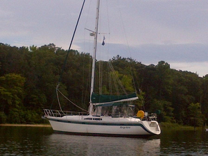Used Irwin Center Cockpit Sailboat For Sale