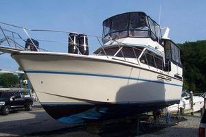 Used President 37 Aft Cabin Trawler Boat For Sale