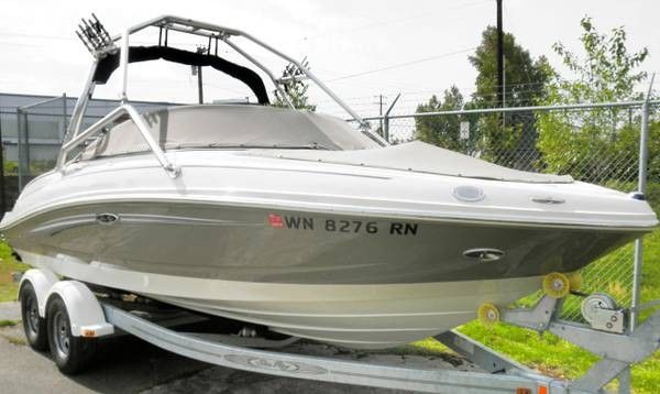 Used Sea Ray 210 Select Ski and Wakeboard Boat For Sale