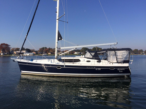 Used Hunter 45 Deck Salon Cruiser Sailboat For Sale