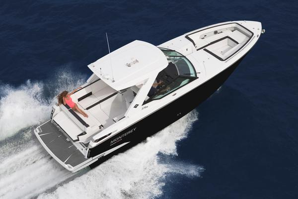 New Monterey 378 Super Express Cuddy Cabin Boat For Sale
