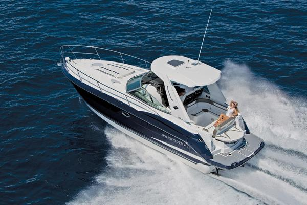 New Monterey 355 Sport Yacht Cruiser Boat For Sale