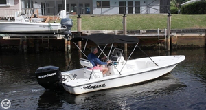 Used Mako 1801 Skiff Fishing Boat For Sale