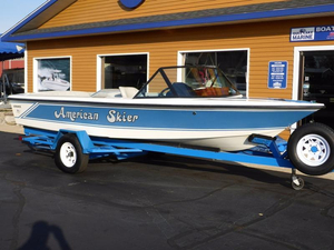 Used American Skier Advance Ski and Fish Boat For Sale