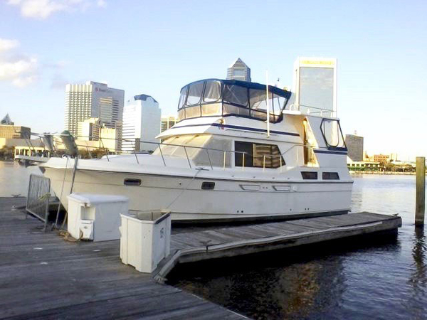 Used Present Sundeck Trawler Boat For Sale