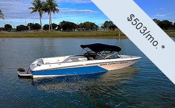 Used Correct Craft Ski Nautique 200 CB Ski and Wakeboard Boat For Sale