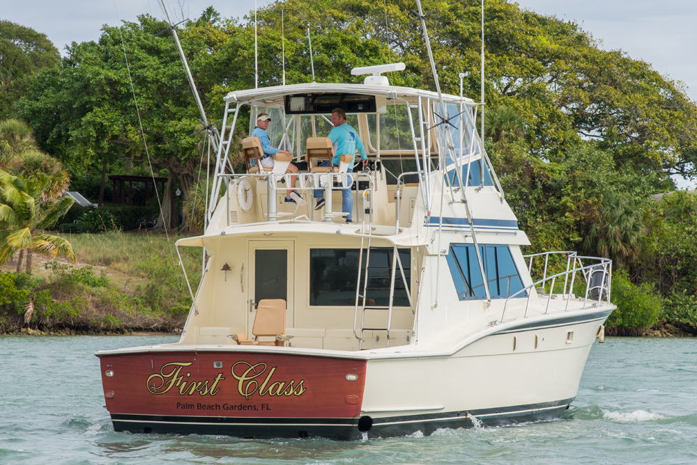 1988 used hatteras sports fishing boat for sale 199 900 for Hatteras fishing charters