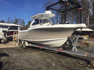 Used Polar Kraft 2700 CC Saltwater Fishing Boat For Sale