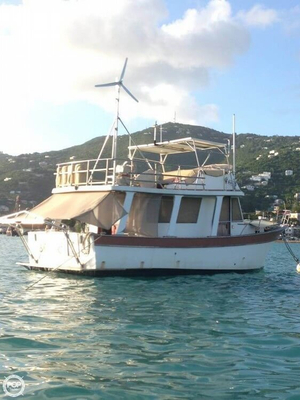 Used Marine Trader 34 Sedan Trawler Boat For Sale