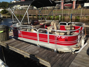 Used G3 V16FC Pontoon Boat For Sale