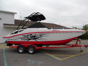 Used Starcraft Crossover 220 SCX IO Deck Boat For Sale