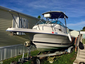 Used Cobia 220 WA Walkaround Fishing Boat For Sale