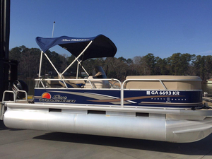 Used Sun Tracker Party Barge 18 DLX Pontoon Boat For Sale
