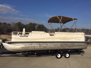 Used Bentley Pontoons 240/243 Fish Pontoon Boat For Sale