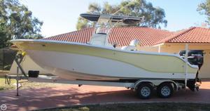 Used Sea Fox 256 Center Console Fishing Boat For Sale