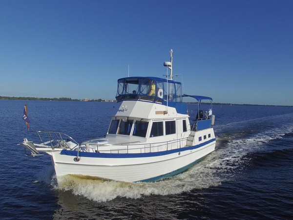 Used Grand Banks 36 Motoryacht Aft Cabin Boat For Sale