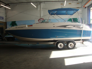 Used Hurricane SD260 Deck Boat For Sale