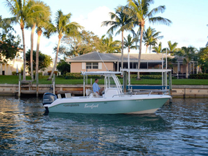 Used Everglades 23 CC Center Console Fishing Boat For Sale