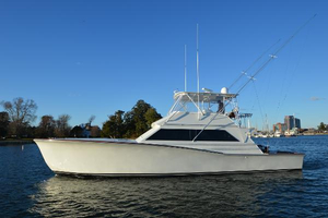 Used Jim Smith 53 Convertible Fishing Boat For Sale