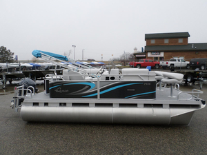 New Apex Qwest 7516 Edge Sport Cruise Pontoon Boat For Sale