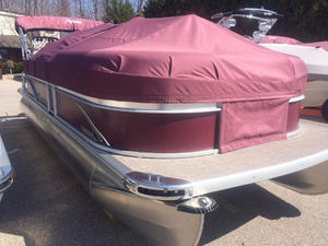 Used Premier 220 Sunsation. Pontoon Boat For Sale