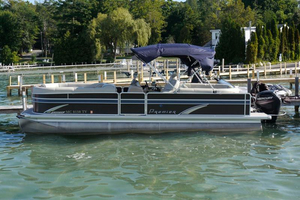 Used Premier 250 SunSation RF Pontoon Boat For Sale