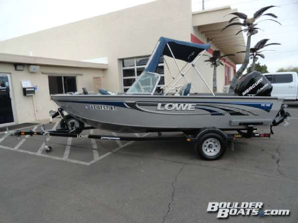 2008 used lowe 165 fish ski and fish boat for sale for Fish and ski boats for sale