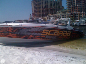 Used Wellcraft 34 Scarab III High Performance Boat For Sale