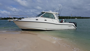 Used Boston Whaler 345 Conquest Cruiser Boat For Sale