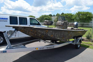 New War Eagle 761 Blackhawk CC Freshwater Fishing Boat For Sale