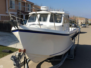 Used Osprey 24 Fisherman Pilothouse Boat For Sale