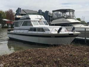 Used Marinette 37 Sedan Flybridge Express Cruiser Boat For Sale