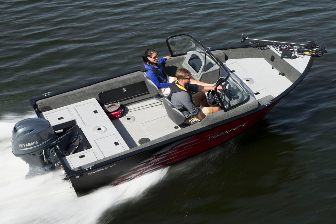 2017 new starcraft renegade 168 dc aluminum fishing boat for New fishing boats