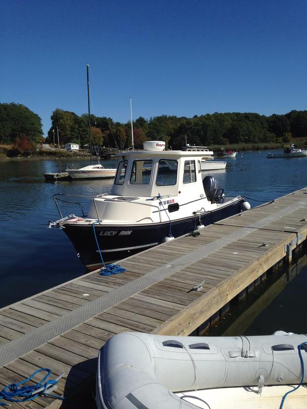 2011 used eastern boats 22 lobsterfisherman downeast for Downeast fishing gear
