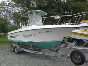 Used Hydra Sports 230 CC Center Console Fishing Boat For Sale