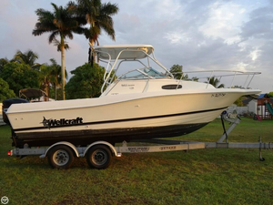 Used Wellcraft 24 WA Walkaround Fishing Boat For Sale
