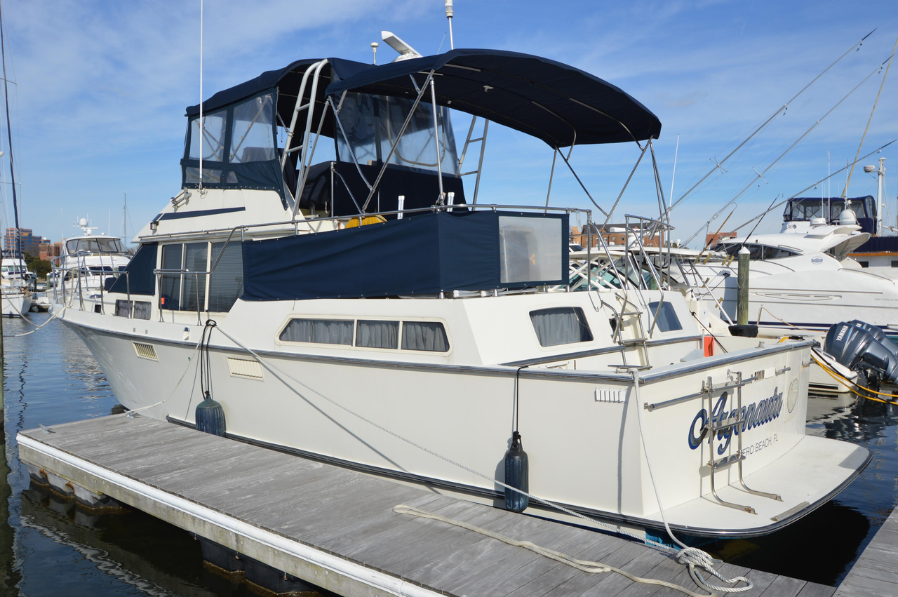 1988 used tollycraft 44 cockpit motoryacht motor yacht for