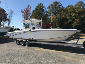 Used Fountain 34 Center Console Motor Yacht For Sale