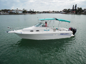 Used Proline 251 WA Cuddy Cabin Boat For Sale
