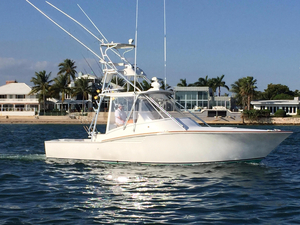 Used Egg Harbor 35' Predator Express Saltwater Fishing Boat For Sale